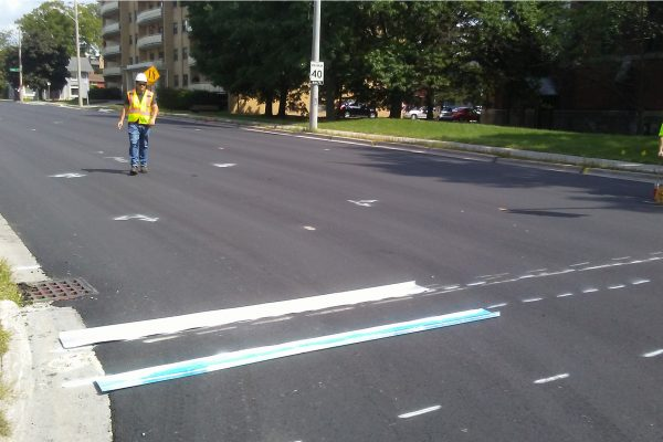 line painting preperations