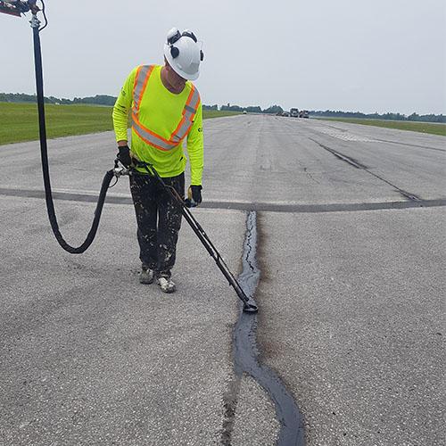 slurry-asphalt-filling